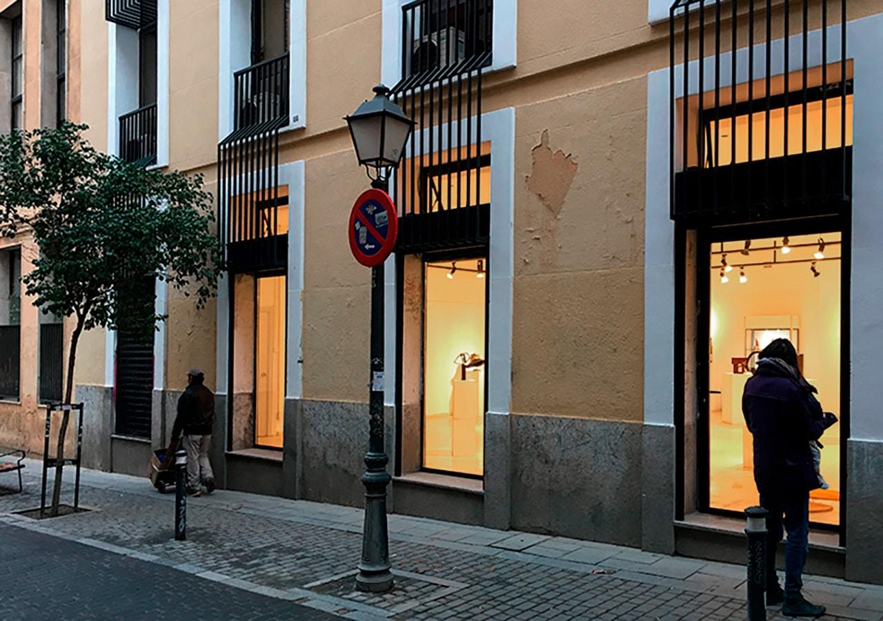 Sala de exposiciones Escuela de Arte La Palma