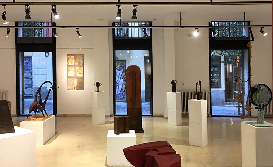 Reforma de la sala de exposiciones de La Palma