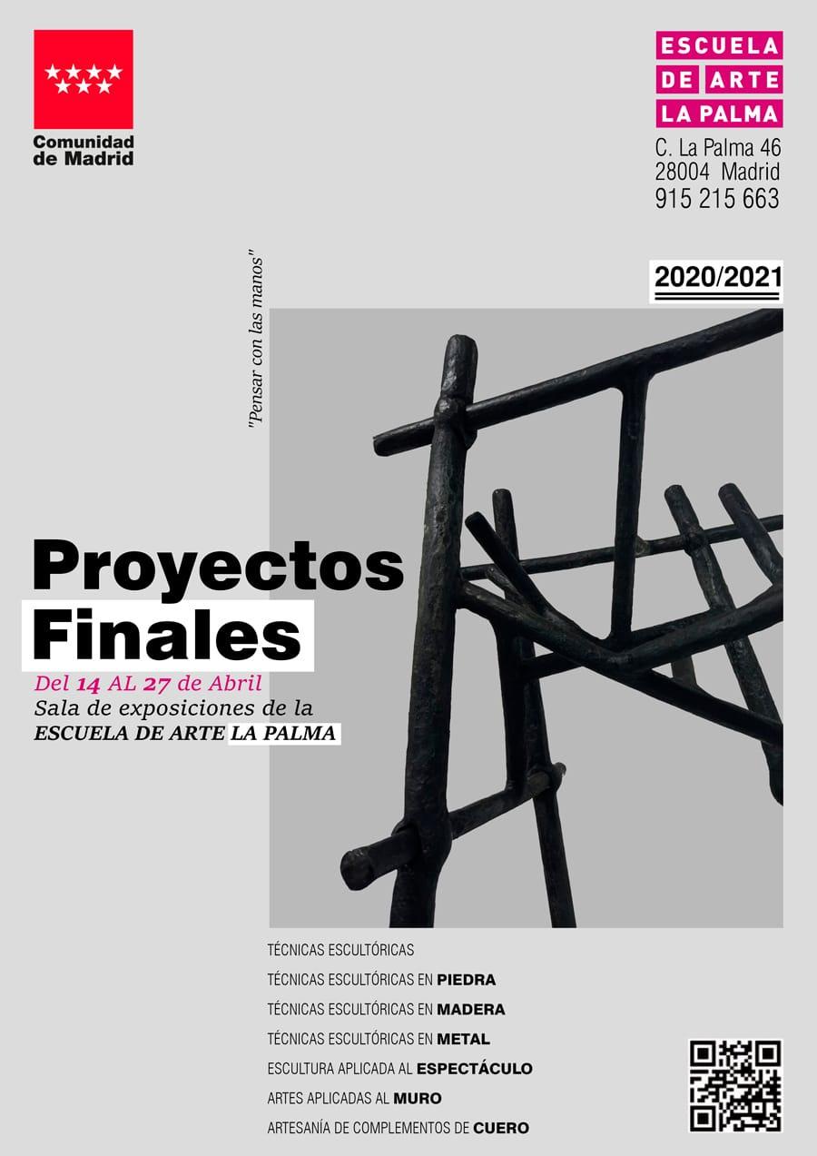 Cartel Exposición Proyectos Finales
