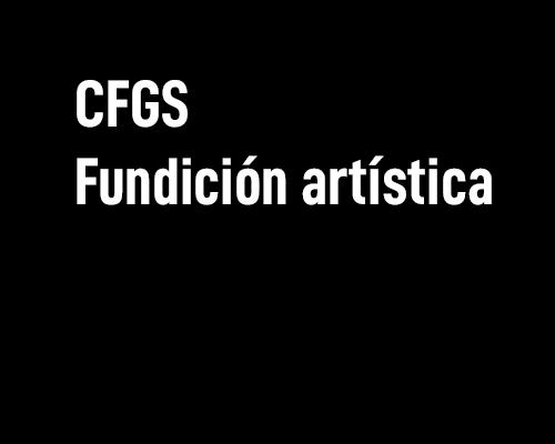 Fundición artística