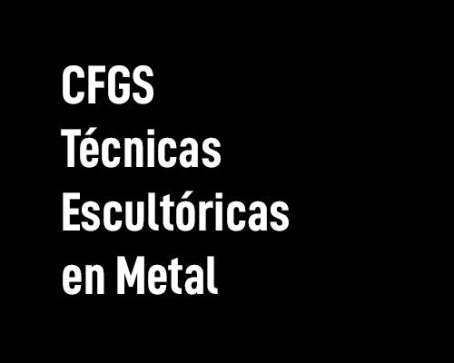 Técnicas escultóricas en metal