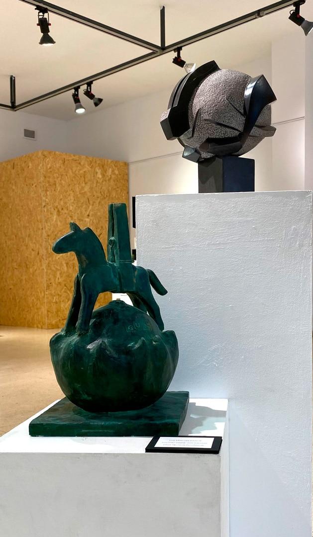Escultura Escuela La Palma